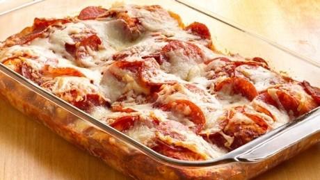 Pizza din 4 ingrediente