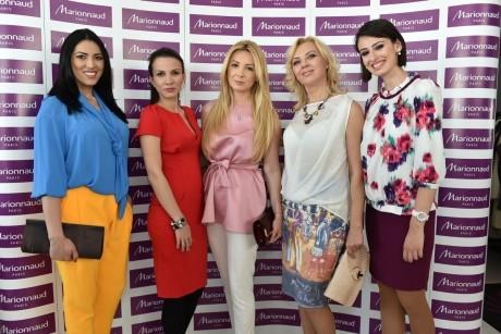 Valentina Pelinel, Dana Săvuică şi Cristina Herea au avut parte de o zi de răsfăţ la înălţime