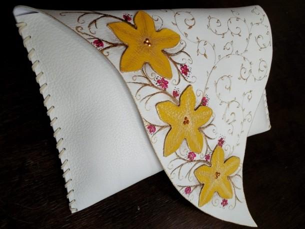 Plic cu flori aplicate manual