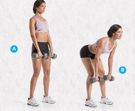 Acest exerciţiu este esenţial pentru tonifierea picioarelor şi feselor