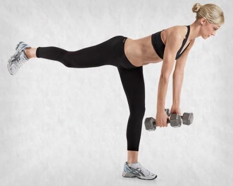 Sculptează-ţi braţele, abdomenul şi spatele în acelaşi timp
