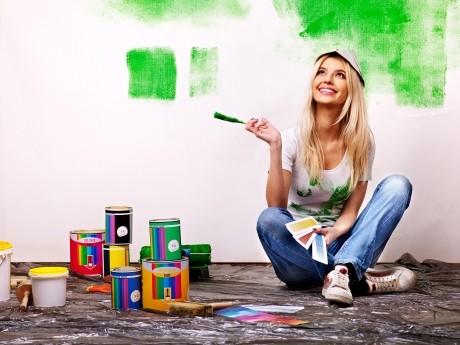Cum vopseşti pereţii casei vara aceasta