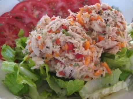 Salată de ton cu citrice