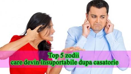 Top 5 zodii care devin insuportabile după căsătorie