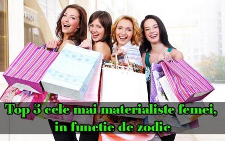 Top 5 cele mai materialiste femei, în funcție de zodie