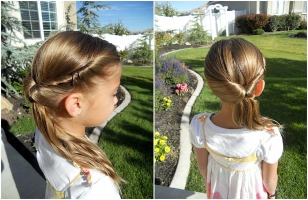 10 Coafuri Rapide Pentru Fetiţe Pe Care şi Taţii Le Pot Crea