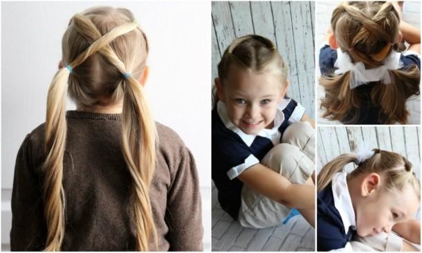 10 Coafuri Rapide Pentru Fetiţe Pe Care şi Taţii Le Pot