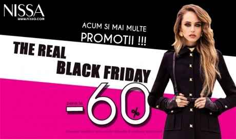 Nu rata ADEVARATUL BLACK FRIDAY la NISSA!