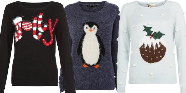 Christmas Penguin Jumper Knitting Pattern : 10 pulovere perfecte pentru seara de Cr?ciun - Feminis.ro, inspiratie zi de zi
