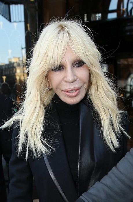 FOTO! Cum arată Donatella Versace la 60 de ani