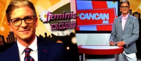 """Culise de tabloid! Marius Niţă, realizatorul CANCAN.RO dă totul din casă: """"Bătaie la machiaj"""""""