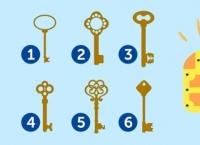 Testul cheii: alege o cheie și vezi ce-ți dezvăluie subconștientul