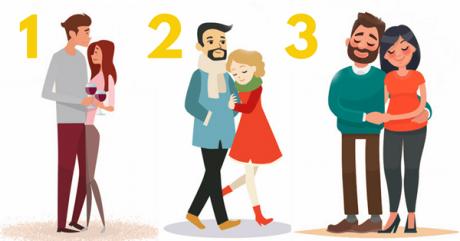 TEST psihologic: Alege cel mai fericit cuplu și îți vom spune cum reflectă relația ta