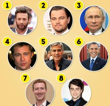 TEST: Alege un bărbat și află ceva despre personalitatea ta