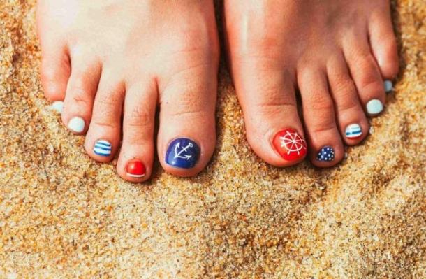 25 De Idei Pentru Pedichiura De Vacanță Care Te Vor Feminisro