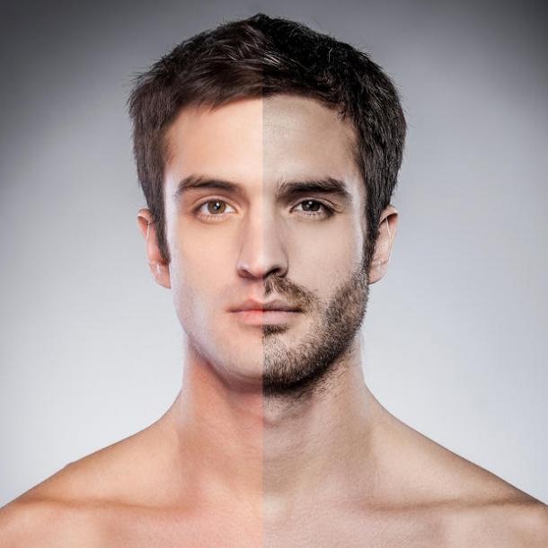 Cat creste barba pe zi