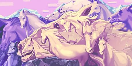 Cât de mulți cai vezi în imagine? Răspunsul va dezvălui o grămadă de lucruri despre tine