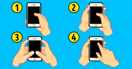 Modul în care îți ții telefonul spune multe despre personalitatea ta