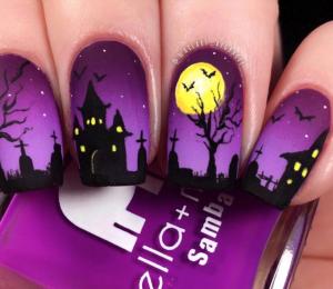 unghii_de_halloween___model_de_unghii_cu_cruci_si_cimitir_noaptea
